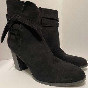NY & Co Black Booties Size 8